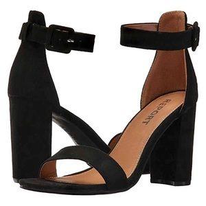 Report Women's Walker Heel Sandals Black Size 9
